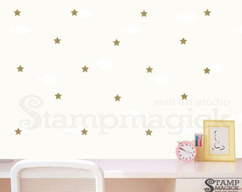 Carousel Wall Sticker Decal As Baby Nursery Wall Decor