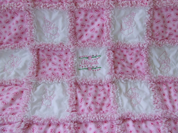 Rag Quillt Instructions Pattern How To Etsy