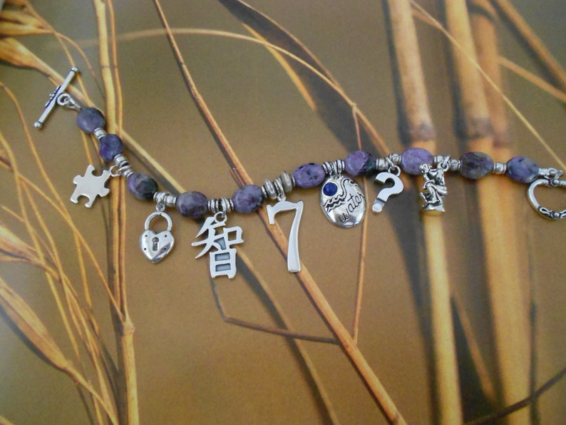 Numerology Life Path Number 7 Charm Bracelet