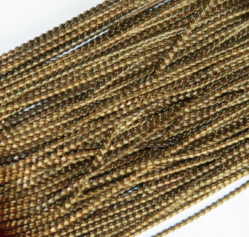 Beading Chain 1mm 32ft spool