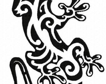 Motif de broderie Machine tatouage lézard par LetZ RocK (9)