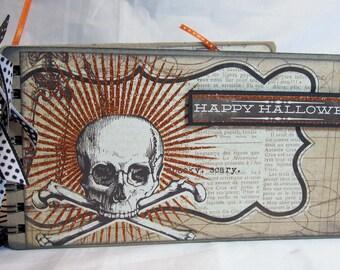 Scrapbook Happy Halloween Envelope Album