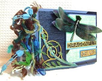 Album Mini Mixed Media Dragonfly