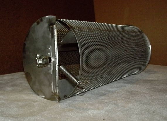 5 lb  Coffee Roaster Drum for BBQ Grills  Also for Roasting Peanuts /  Chiles / Cacao