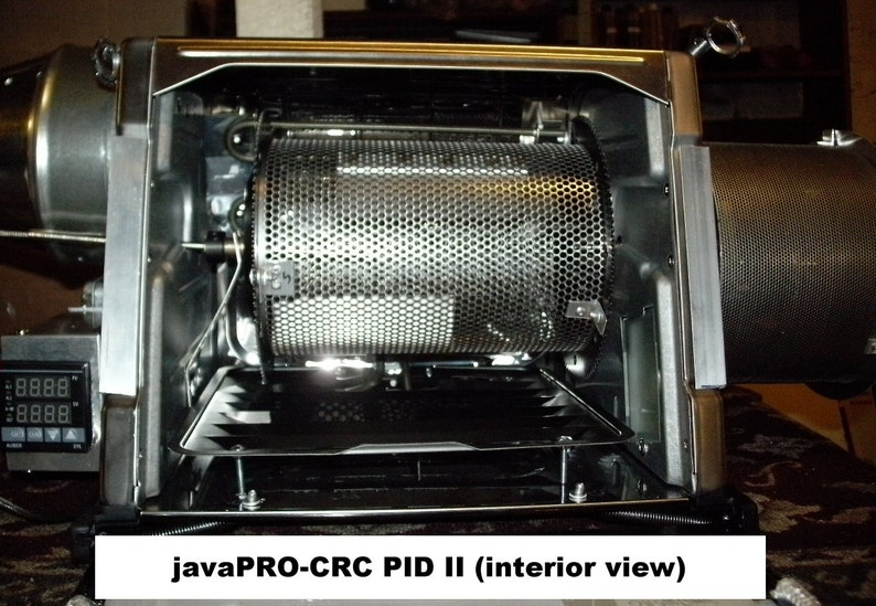 2 lb  Electric Coffee Roaster for Roasting Coffee Beans, has PID and 60RPM  Motor System