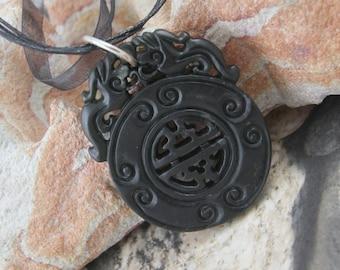 Chinese Lucky Jade Pendant