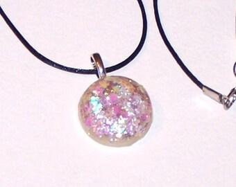 Stunning Faux Opal Pendant