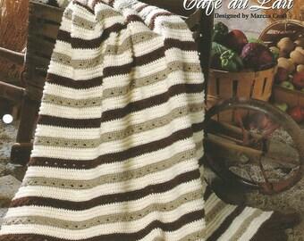 One-piece classics, Crochet pattern leaflet, 'Cafe au Lait'