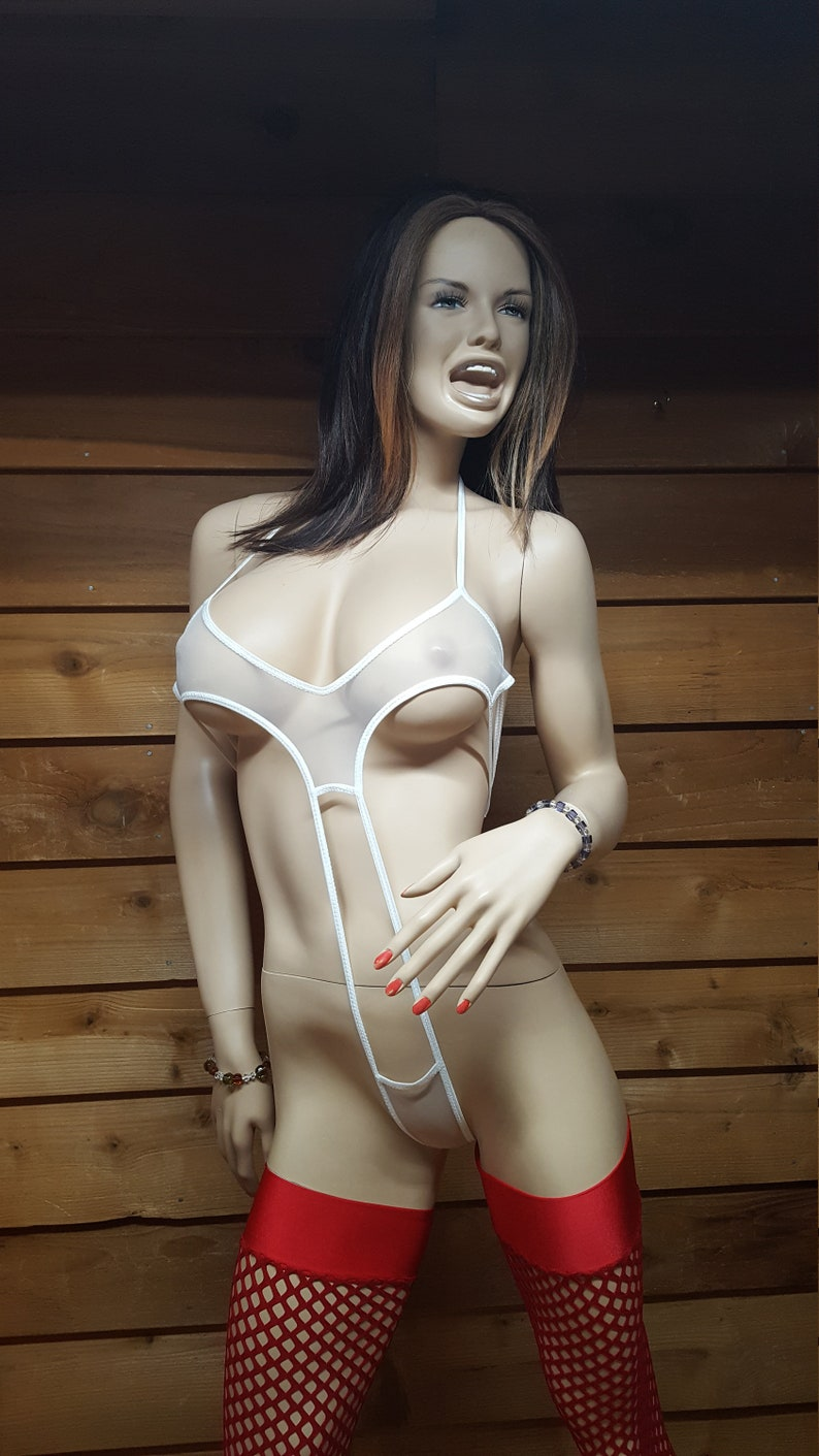 white bikini Elisa sling
