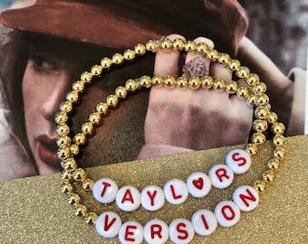 Taylor's Version Bracelet Set, includes both bracelets