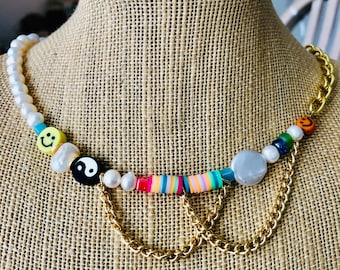 NEW! Trendy Pearl Necklace, On Sale Today Only!