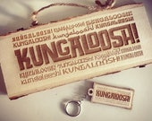 Kungaloosh Adventurers Club Wood Sign