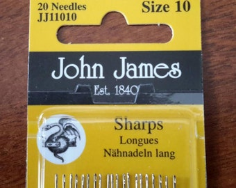 Hemline Curved Needles Upholstery Hand Sewing Needles 3 Pack Curve