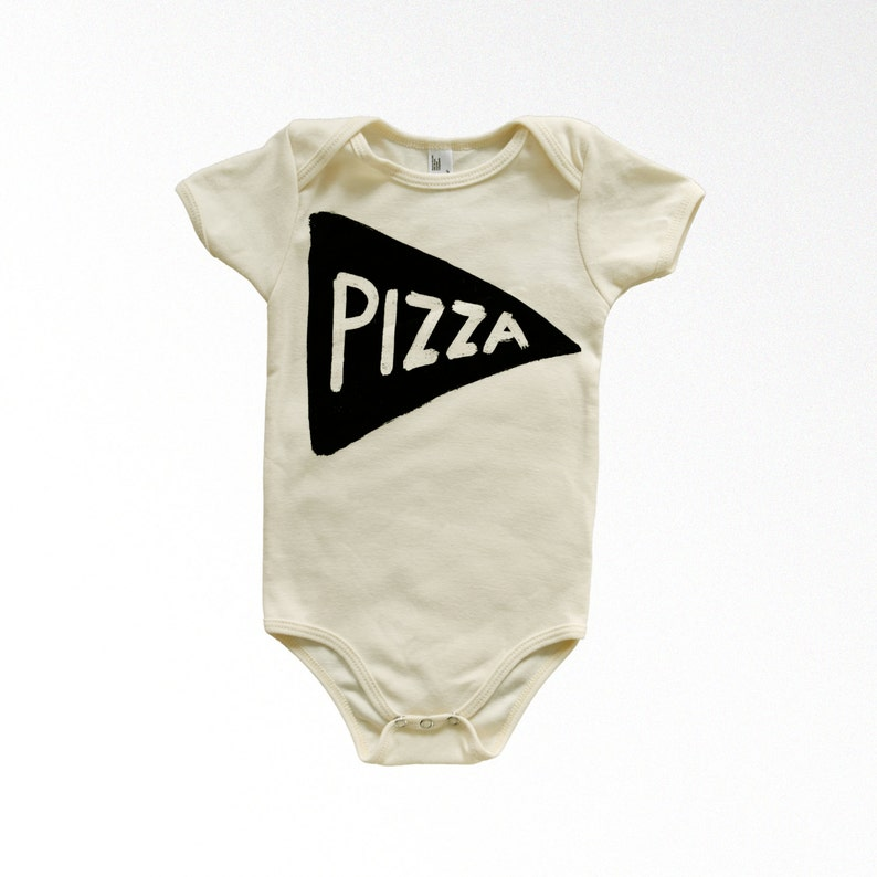0f73aff92 Pizza Party Organic Bodysuit new parent gift mom dad to be | Etsy