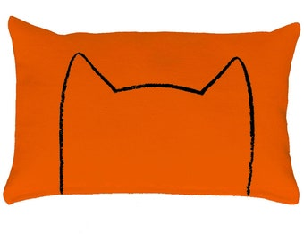 Catnip Cat Pillow Kicker Toy for IKEA Duktig Doll Beds, gift for cat lover, xenotees