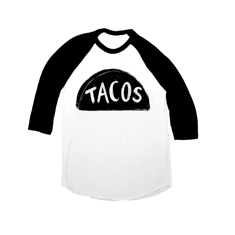 ffd2d9f6df9 Taco T Shirt Baseball Jersey cool gift for him mens