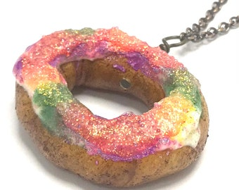King Cake Necklace (Copper)