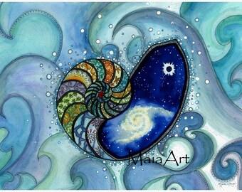 Depth of Spirit / Greeting Card