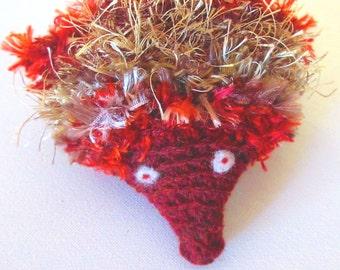 Australian Echidna Finger Puppet Egg Hat