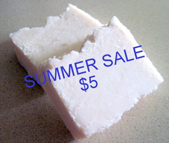 SUMMER SALE Old Fashioned Lye Bar Soap (handmade, moisturizing, multipurpose soap, shaving soap) Stardust soaps