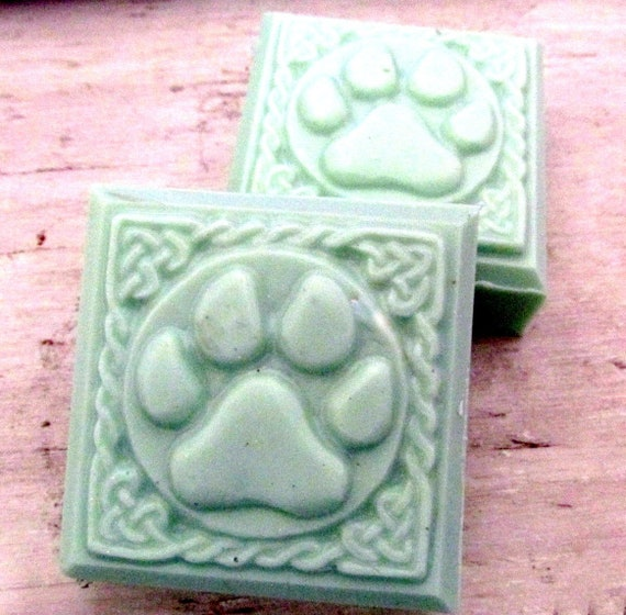 Dog Argan Oil Patchouli Shampoo Bar (Naturally handmade, pet care, dog shampoo, gift, Nice lather, dog care, Christmas gift