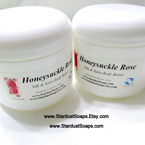 Honeysuckle Rose Hand and body cream -luxurious, moisturizing, skincare, aromatic, gift, hydrating, Free shipping item