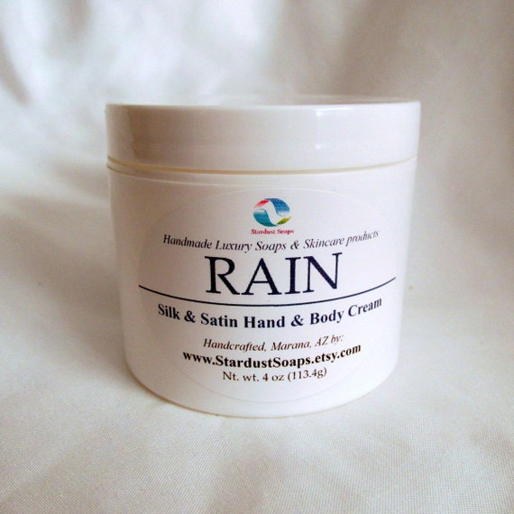 Free USA Shipping/Rain Cream /Handmade cream,luxury skin care, moisturizing, hydrates skin, for all skin types, refreshingly clean scent