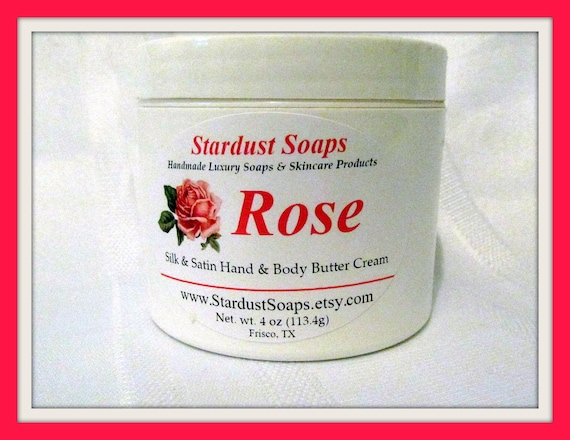 Free USA shipping Rose Cream   /pH balanced/moisture /eczema/personal care/radiant/anti aging/body butter/hand and body/all skin types/
