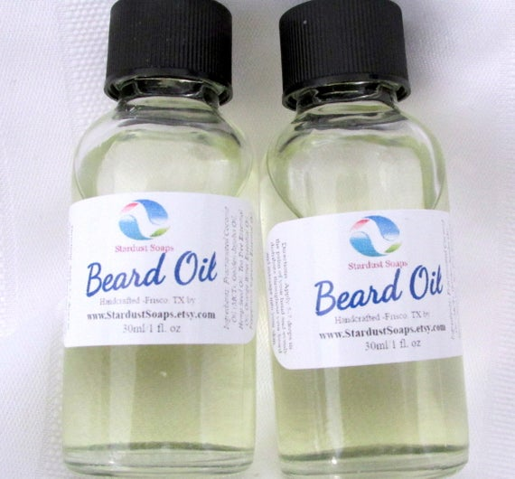 Beard Oil /hand blended beard conditioning oil, facial hair treatment, naturally antibacterial, Made in USA, Fall LIQUIDATION SALE