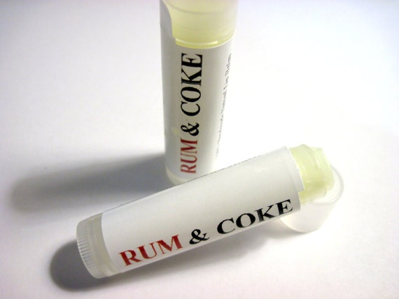 Run and Coke lip Balm (handmade in USA, moisturizing, protection, labeled, great gift, travel, camping) LIQUIDATION SALE