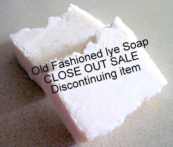 Old Fashioned Lye Soap (handmade, moisturizing, multipurpose soap, shaving soap, self care, personal care. laundry) SALE
