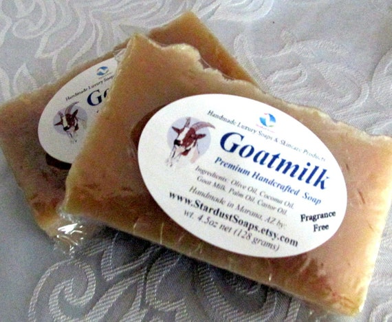 Natural Goat Milk Soap - Handmade, gentle soap, for all skin types, eczema skin, face and body soap, moisturizing, cleansing