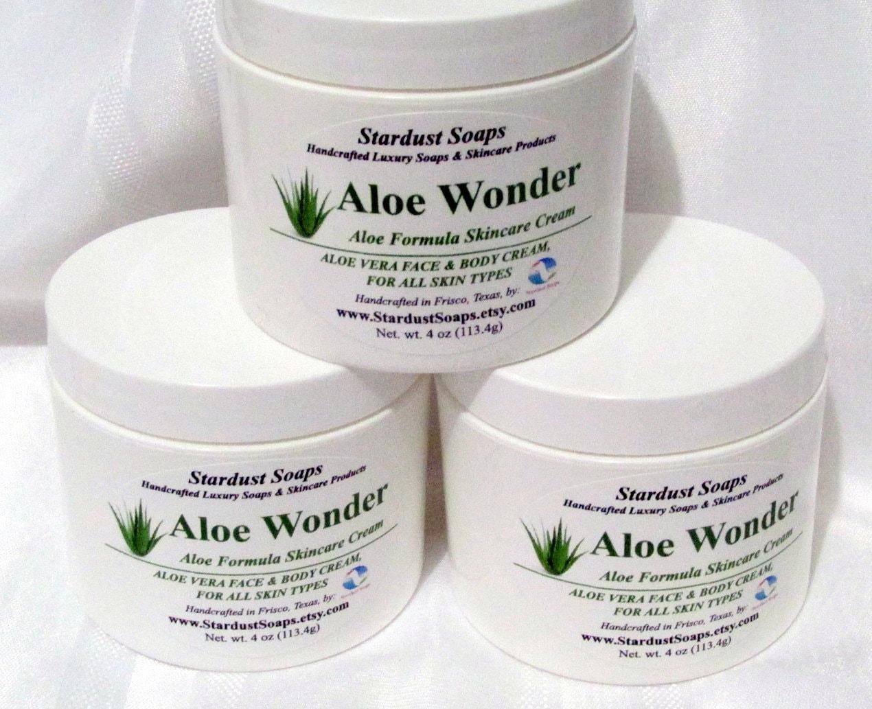 Anti Aging Night Cream Homemade free usa shipping aloe wonder cream /homemade skin care