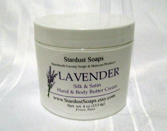 Free USA Shipping - Lavender cream /moisturizer /soothes all skin types /eczema/self care /body butter/hand and body/