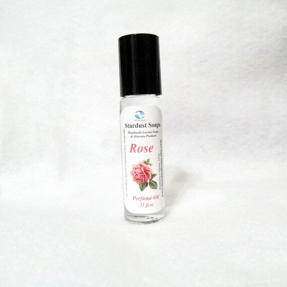 ROSE -  Roll-on Perfume oil , Aromatic, Victorian, fragrant, floral, long lasting perfume oil, 10 ml