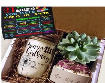 21st Birthday Gift Send A 21 Coworker Friend