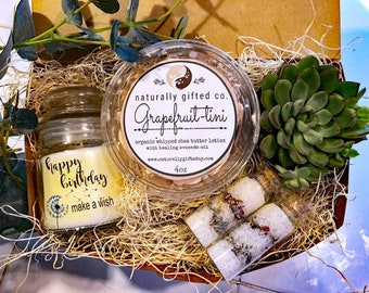 Personalized Friend Gift Birthday Spa For Mom New Basket Best Her