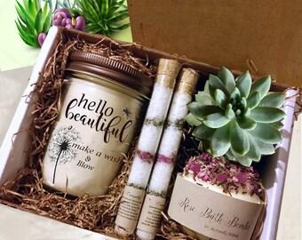Birthday Gift Box Gift IdeasHappy Birthday Gift Box Happy Birthday Gift BasketBirthday Gifts Ideas Birthday Gifts For Her |Gift For Her & Birthday gift box | Etsy