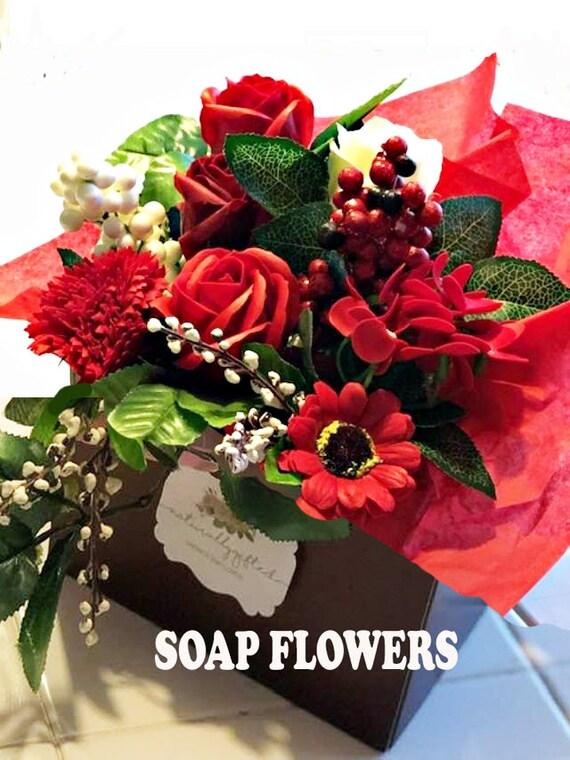 Birthday Gift Soap Flowers Sister Gift Sister Birthday Friend Gift Birthday Gift For Her Personalized Name Best Friend Gift