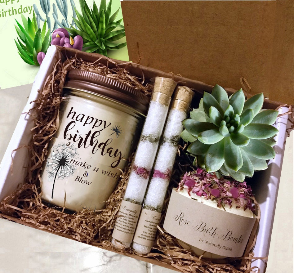 Birthday Gift For Her Box Spa Set