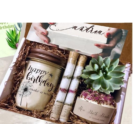 Birthday Gift Gift Ideas Happy Birthday Gift Box Fall Etsy