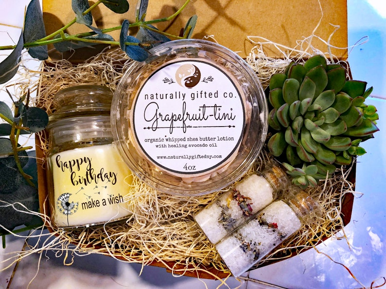 Personalized Gift Spa Set Box Teacher Gifts