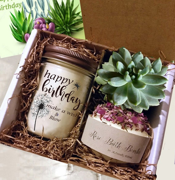 Birthday Gift For Sister Mom Grandmother Soy Candle Fresh