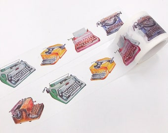 Write Drunk Typewriter Washi Tape for Planners or Journals