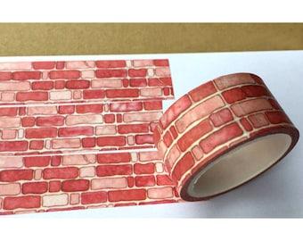 Red Brick Washi Tape (137549)