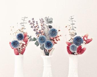 Small dried flowers arrangement, Birthday bouquet, Bud vase flowers, Dried flowers bouquet, home decor, rustic decor, rustic dried flower