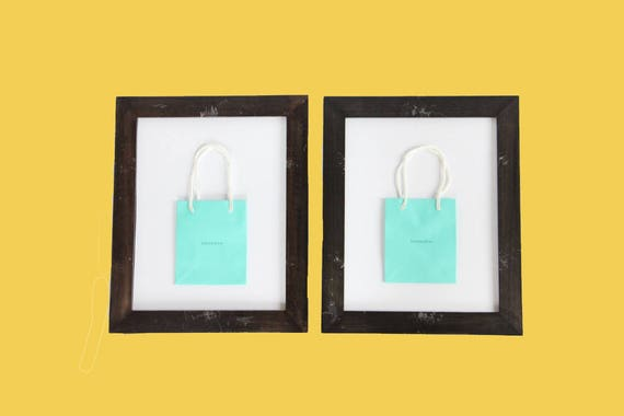 Tiffany & Co. Framed Shopping Bag Wall Art (Set of 2) from ...