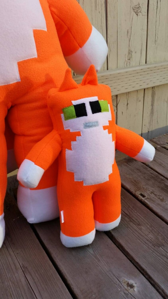 Stampy Cat Longnose Plush Minecraft