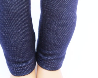 Fits like American Girl Doll Clothes - The Arrow Jewel Tone Collection, Denim Blue Jeggings   18 Inch Doll Clothes