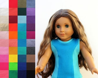 Fits like American Girl Doll Clothes - Workout Tank Top, You Choose Colors | 18 Inch Doll Clothes